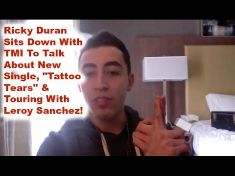 Ricky Duran Sits Down With TMI To Talk About His New Single Tattoo Tears!