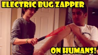 Electric Bug Zapper On Humans!