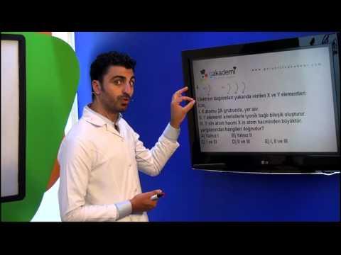 11. Sınıf Kimya Görüntülü Eğitim Seti (Soru Çözümleri)