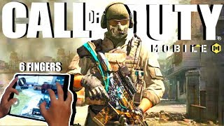 [🔴LIVE] Call of Duty MOBILE GLOBAL RELEASE IS HERE!! // Level 145+ // 6 Finger Claw Handcam :)