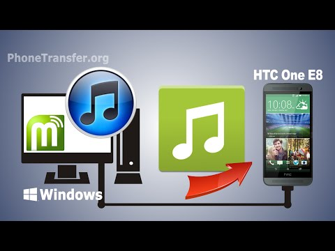 [iTunes Music to HTC One E8]: How to Sync Music/Playlist from iTunes to HTC One E8, E9, M9