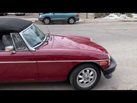 GM V6-Powered 1977 MG MGB Roadster