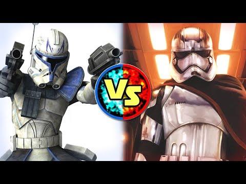 Star Wars Versus: Captain Rex VS. Captain Phasma - Star Wars Basis Versus #4