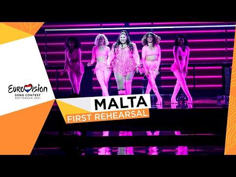 Destiny - Je Me Casse - First Rehearsal - Malta ??- Eurovision 2021