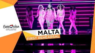 Destiny - Je Me Casse - First Rehearsal - Malta 🇲🇹- Eurovision 2021