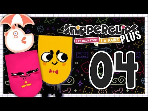 SNIPPERCLIPS PLUS EPISODE 4 NINTENDO SWITCH COOP FR