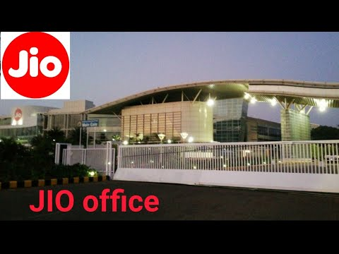 Jio Office Mumbai ||India's Best Office||
