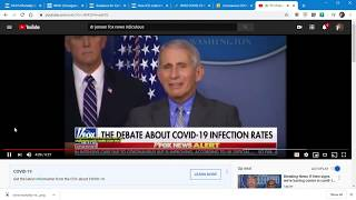 "Fauci defends COVID-19 padded numbers cries ""conspiracy theory""!!"
