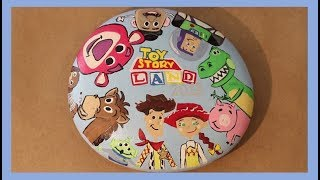 Time Lapse Painting: Toy Story Land | Painted Rock Ideas | Kindness Rocks