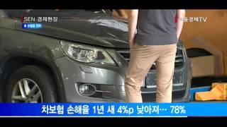 [서울경제TV] 손해율 여유 생긴 보험사 車 보험료 내…