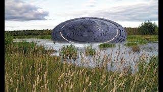 В Сибири рухнул НЛО пришельцев! К месту падения прибыли российские во енные из Томской области