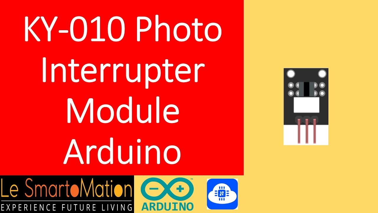 Ky 010 Photo Interrupter Module Optical Broken As A Toggle Photointerrupter Switch With Arduino