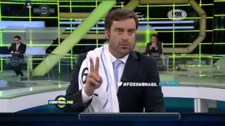 Maxi Palma Central Fox Uruguay 2-1 Inglaterra