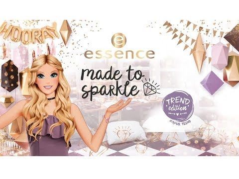 """Essence """"Made to Sparkle"""" Collection"""