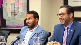 Felipe Vicini, Presidente de CRESO, felicita a atletas dominicanos por medallas obtenidas