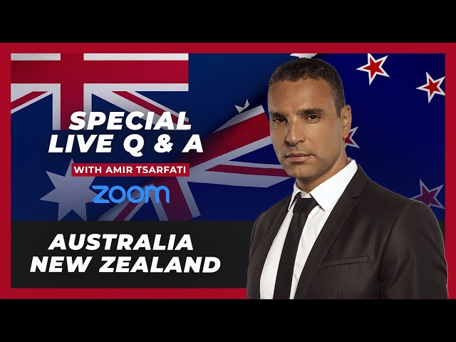Behold Israel - Australia & New Zealand Zoom Q&A