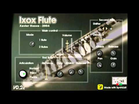 Download Free Flute plug-in: IxoxFlute by Ixox