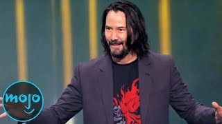Download 10 Times Keanu Reeves BROKE the Internet Mp3 and Videos