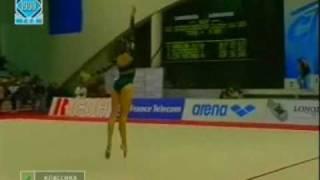 EC 1998 PORTO Ekaterina Serebrianskaya UKR Hoop AA