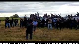 APARECE CARTEL DE GUANAJUATO Y RETA A MUERTE AL JALISCO NUEVA GENERACIÓN