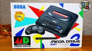 Sega Mega Drive 2 PAL РАСПАКОВКА ОБЗОР ТЕСТ консоль 1993 года