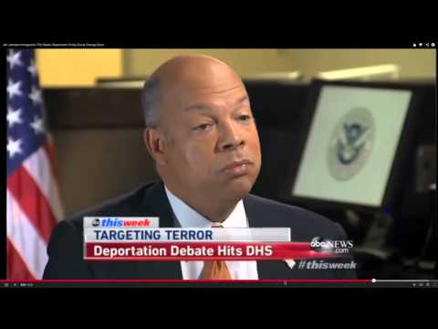 Jeh Johnson: We are enforcing the law every day