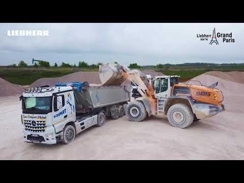 Liebherr - Grand Paris : A2C Granulat au service du chantier du siècle