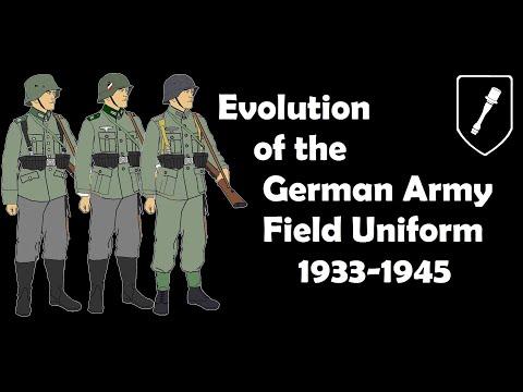 Evolution Of The German Army Field Uniform 1933-1945