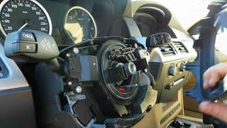 Failure DSC BMW, steering angle sensor. Dynamic Stability Control.