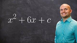 إيجاد قيمة C من أجل الكمال مربع