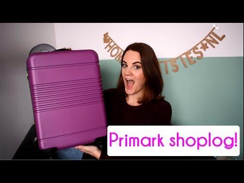 KOFFER VOL PRIMARK GOODIES | SHOPLOG (+ andere winkels) – homeofdaisies.nl