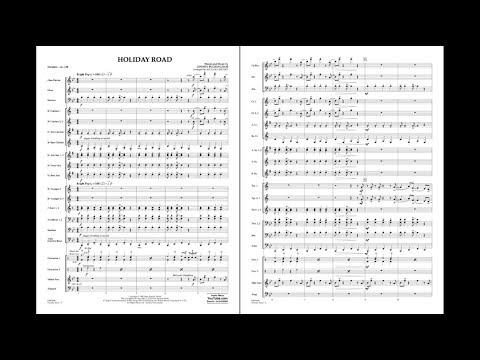 Holiday Road by Lindsay Buckingham/arr. Michael Brown