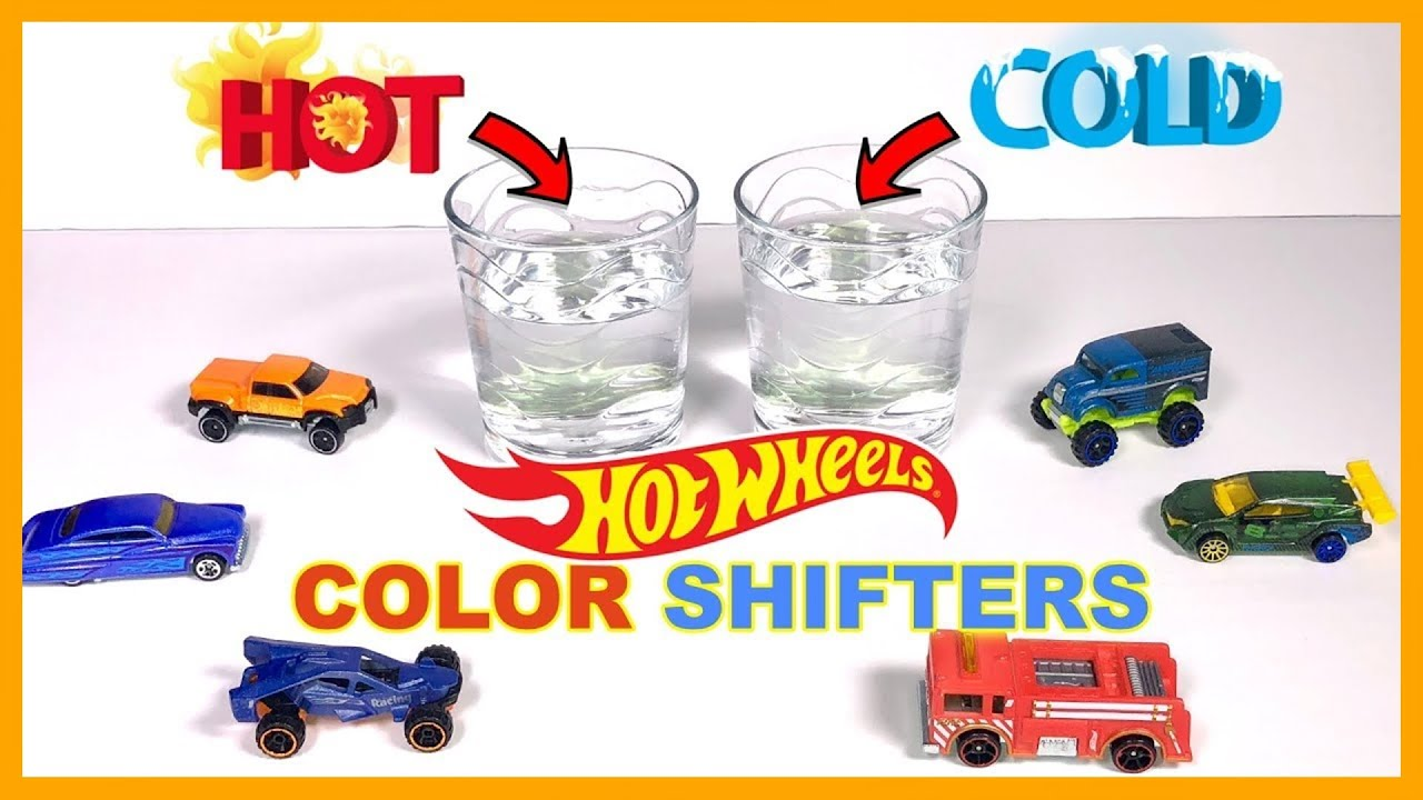 Hot Wheels Color Shifters Test Race
