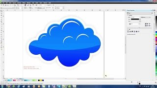 CorelDRAW Example: Cloud