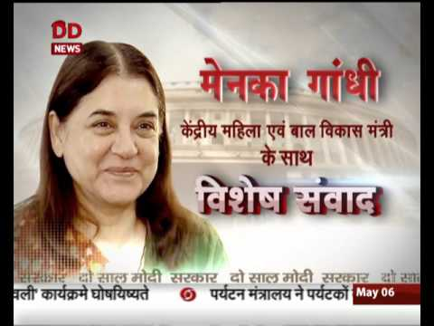 Do Saal, Modi Sarkar: Interview with Union Minister Maneka Gandhi