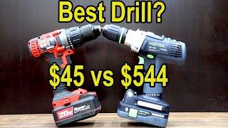 Best Drill? Let's find out! Milwaukee vs Dewalt, Makita, Bosch, Festool, Ryobi, Bauer, Ridgid