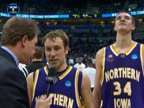 N. Iowa Coach and Players On Stunning Win
