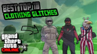 gta online top 10 clothing glitches 1 27 1 36 duffle bag invisible body parts more