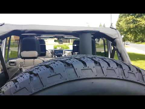 Installation AEV Style Front and back Bumpers Winch Navigation and backup Camera Jeep Wrangler JK