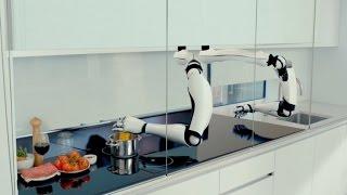 شاهد.. أول مطبخ روبوتي بالكامل