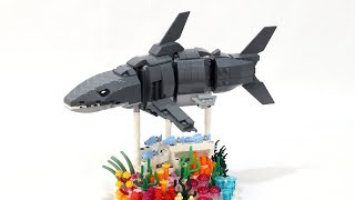 Swimming Shark - Brick Built LEGO Forma Skin