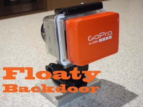 GoPro Hero Accessories - Floaty Backdoor