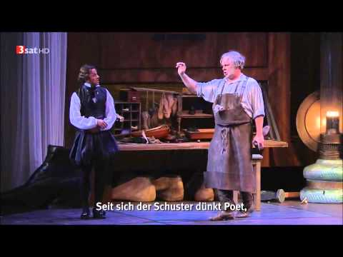 Meistersinger - Baritone Markus Werba as Sixtus Beckmesser