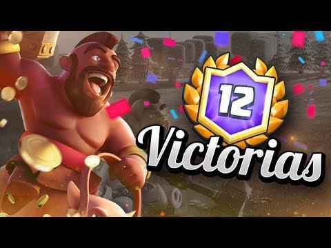 ¡¡EL MEJOR MAZO PARA HACER 12 VICTORIAS!! - 12-0 EN GRAN DESAFÍO FÁCIL - CLASH ROYALE