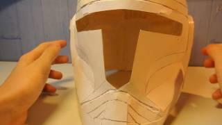 Новость ( Я сделал шлем из Звездных войн из бумаги )