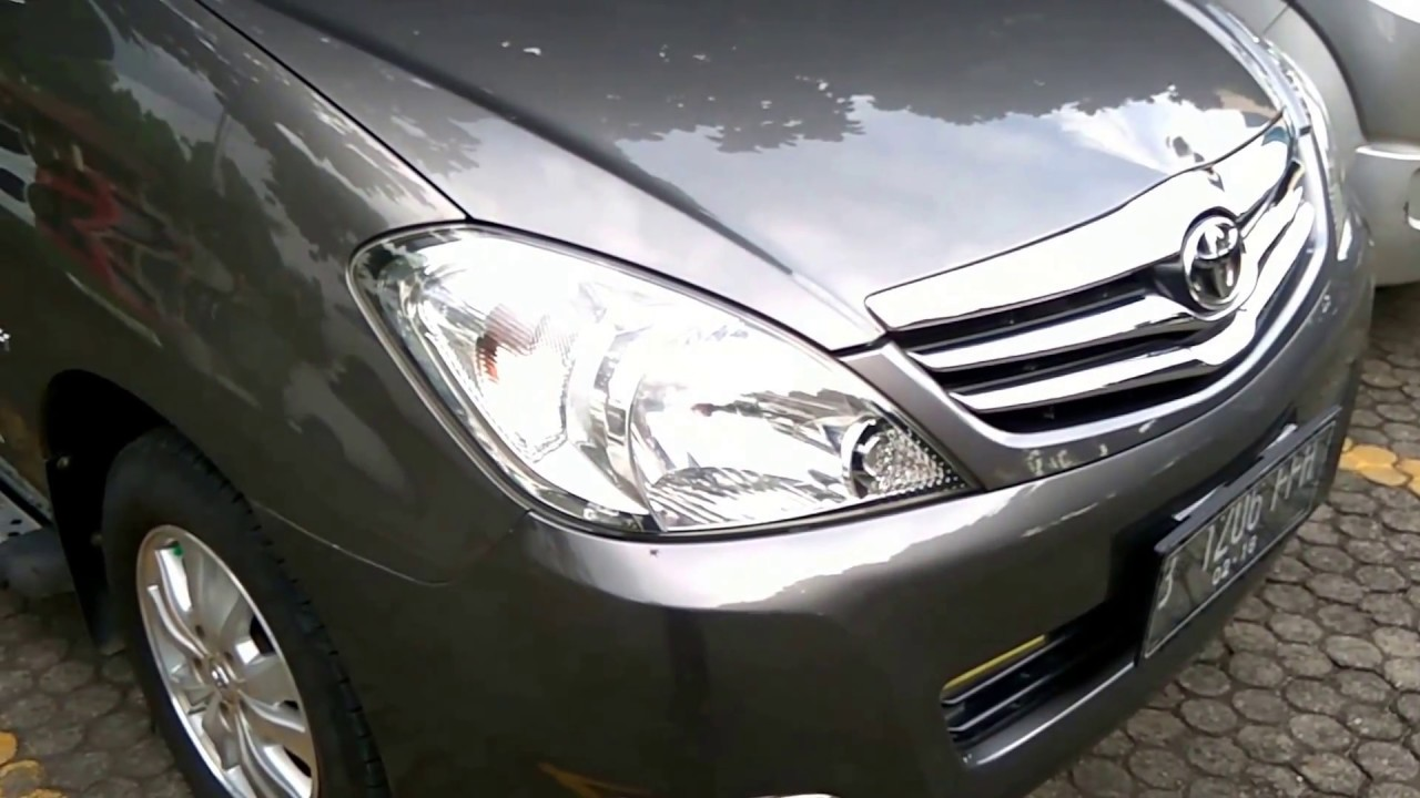 Toyota Kijang Innova 2 0 V Luxury A T 2010 An40 In Depth Review Indonesia Youtube