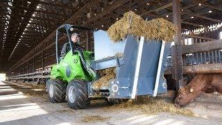 AVANT ŁADOWARKI I 150 NARZĘDZI - praca w gospodarstwie rolnym
