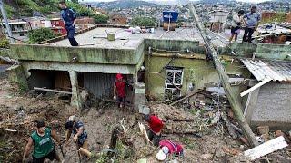 فيديو: مصرع 30 شخصاً جراء عاصفة عاتية جنوب شرق البرازيل