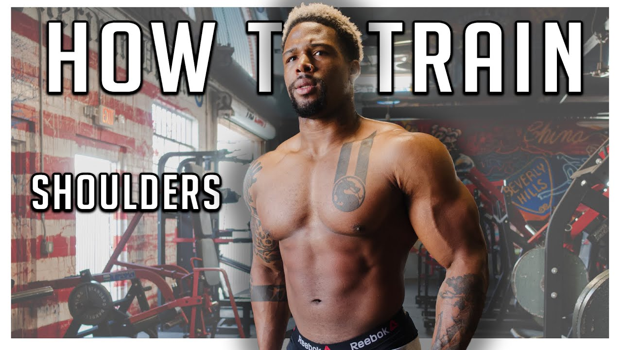 Best Way To Train Shoulders (Full Routine)