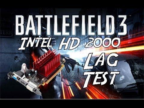 Battlefield 3 - Intel HD Graphics 2000 Test! - YouTube